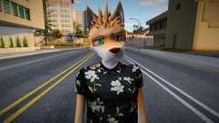 Akagami Hero SWAG (Furry) para GTA San Andreas