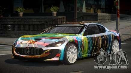 Maserati Gran Turismo US PJ8 para GTA 4