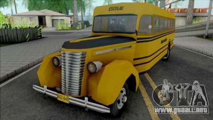 Chevrolet 1940 Bus para GTA San Andreas