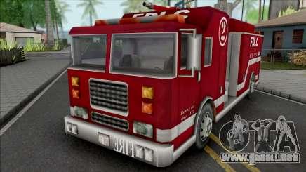 GTA III Firetruck para GTA San Andreas