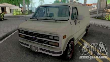 Chevrolet Van G20 [HQ] para GTA San Andreas