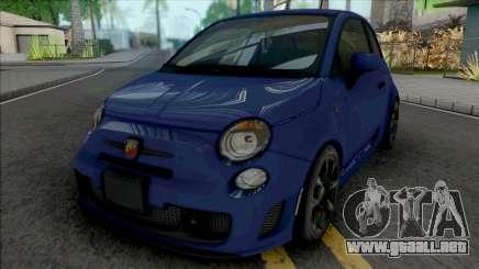 Fiat 500 Abarth 2014 IVF Style para GTA San Andreas