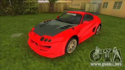 NFSMW Toyota Supra para GTA Vice City