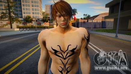 Shin Casual Tekken (Sexy Boy 1) para GTA San Andreas