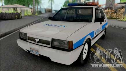 Tofas Sahin Polis Aracı SA Style para GTA San Andreas