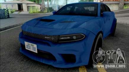 Dodge Charger SRT Hellcat 2020 Widebody SA Style para GTA San Andreas