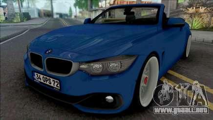 BMW 435i Cabrio (Air) para GTA San Andreas
