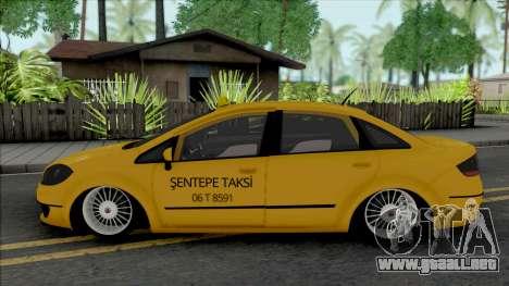 Fiat Linea Taksi (MRT) para GTA San Andreas