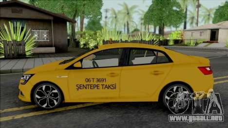 Renault Megane Taksi (MRT) para GTA San Andreas