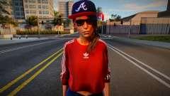 Lara Croft Fashion Casual v6 para GTA San Andreas