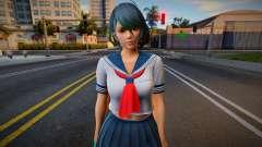 DOAXVV Tamaki White Sailor Uniform para GTA San Andreas
