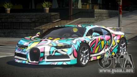 Bugatti Chiron U-Style S8 para GTA 4