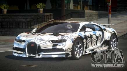 Bugatti Chiron U-Style S3 para GTA 4