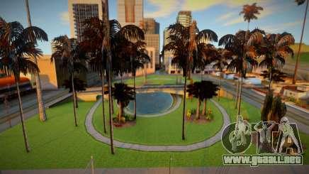Vegetación otoñal para GTA San Andreas