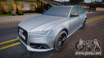 Audi RS6 Avant (Good model) para GTA San Andreas