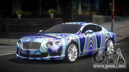 Bentley Continental Qz S1 para GTA 4
