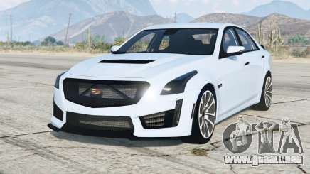 Cadillac CTS-V 2016〡add-on para GTA 5