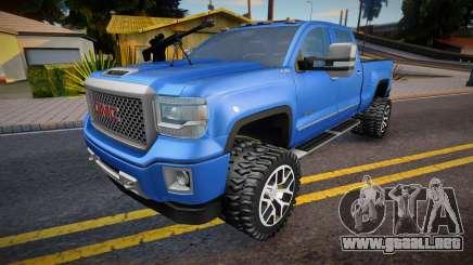 GMS Sierra 2015 para GTA San Andreas