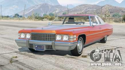 Cadillac Coupe de Ville 1974〡add-on para GTA 5
