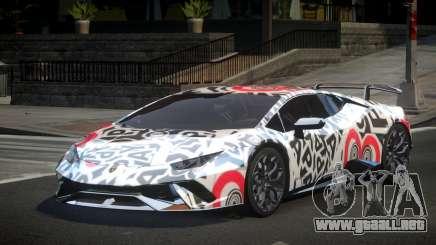 Lamborghini Huracan Qz S5 para GTA 4