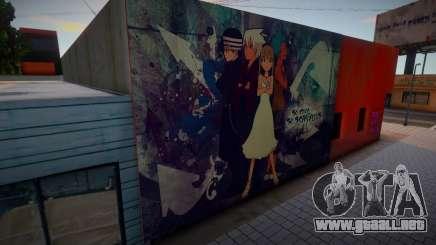 Soul Eater (Some Murals) 8 para GTA San Andreas